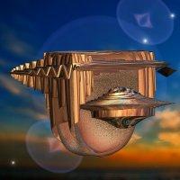межзвездный корабль :: linnud