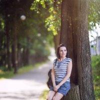 ♥ Анютка в парке Челюскинцев, Минск 07.2015 ♥ :: Alex Lipchansky
