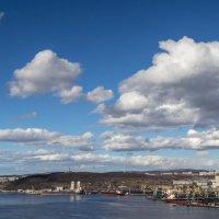 Мурманск. Вид со стороны Кольского залива. :: Наталья Василькова