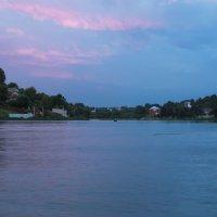 Закат на пруду. :: Наталья