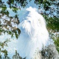 облачко на небе Манечка (двойная экспозиция) :: Лариса Батурова