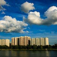 Облака над Москвой рекой :: Zifa Dimitrieva