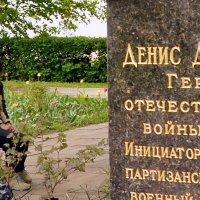 На могиле Дениса Давыдова :: Владимир Болдырев