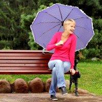 Под дождем :: Елена Андреева