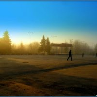 Утро туманное :: Андрей Заломленков
