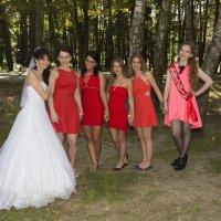 Невеста с подружками :: Екатерина Сидорова