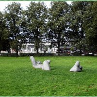 Скульптура «Был хороший летний день» :: Вера