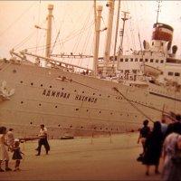 """""""Адмирал Нахимов"""" в Ялте. 1981 год :: Нина Корешкова"""