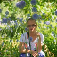 В цветах... :: Ольга Некрасова
