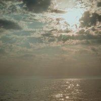 Закат на море :: Дарья Селянкина