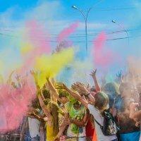 Краски Холи :: Sied Art