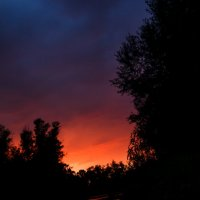 Закат после грозы :: ILYA CHUDIN