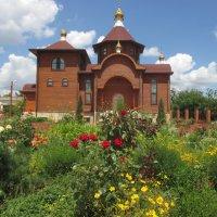 """На подворье храма в честь иконы Божией Матери """"Всех скорбящих радость"""" :: Нина Бутко"""