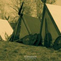 Палатки в средневековом лагере :: Нурлан Султанов
