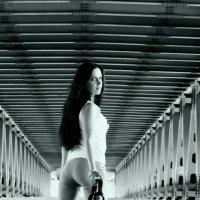 на мосту, под мостом :: Ольга Ви
