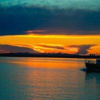 Закат в Иркутске :: Елизавета Альбрехт