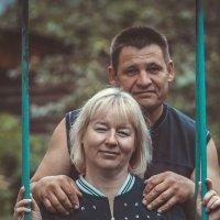 я с супругой через 27лет совместной :: Андрей Юзеев