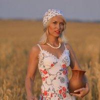 вечер в поле :: Галина Сергеевна