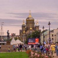 Питер в день ВМФ. :: Сергей Исаенко