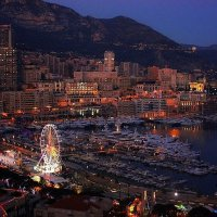 Ночь в Монако :: Юрий. Шмаков