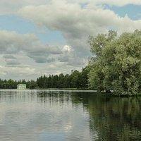 Парк. Белое озеро. :: Владимир Гилясев