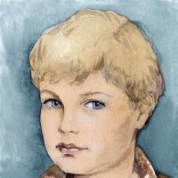 Портрет сына (акварель) :: Эля Юрасова