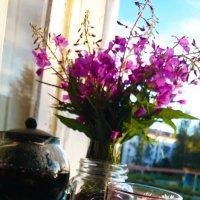 Иван-чай с ромашкой :: Marina Alive