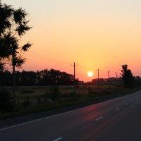 Восход солнца.. :: ~К а р е г л а з а я~