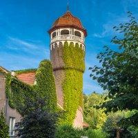 Водонапорная башня и здание водолечебницы :: Игорь Вишняков