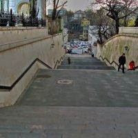 лестница к порту :: Александр Корчемный