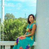 девушка на балконе :: Anabel A