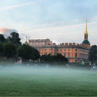 А на Марсовом сегодня был туман.... (10.08.2015) :: Зоя Авенировна Куренкова