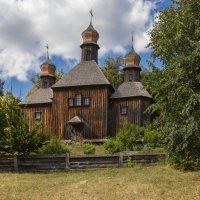 « Деревянные церкви Руси    Перекошены древние стены..» :: Андрей Нибылица