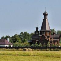 Церковь Иконы Божией Матери «Спорительница хлебов» в Лобне. :: Rabbit Photo
