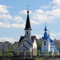 Церкви святого Георгия Победоносца и Рождества Христова на Средней Рогатке :: Николай