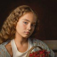 Девочка со смородиной :: IgorVKIv