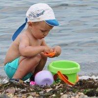 Малыш на море :: Алёна Ельцова