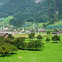По дороге от Вадуца (Лихтенштейн) до Люцерна (Швейцария) :: Елена Павлова (Смолова)