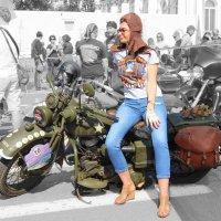 Harley Davidson 1937 года выпуска :: Вера Моисеева