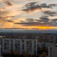Осенний рассвет :: Зоя Авенировна Куренкова