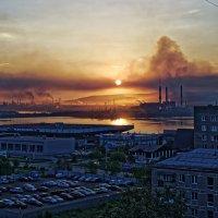 Рассвет на ММК :: Илсур Загитов