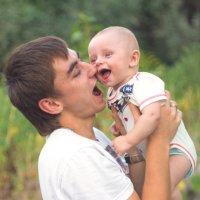 Папа и сын :: Алексей Гончаров