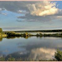 На озере :: Геннадий Ячменев
