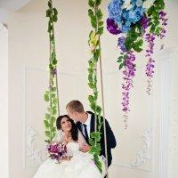 Свадебная фотосессия в студии :: марина алексеева