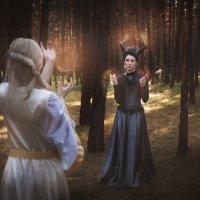 Светлый эльф и Дракон. Противостояние :: Мария Дергунова