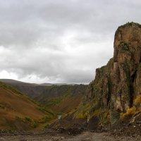 Чаша реки Малка. Вид с северного отрога Эльбруса. :: Elena Izotova