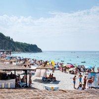 пляж в Ольгинке :: Елена Мухачева