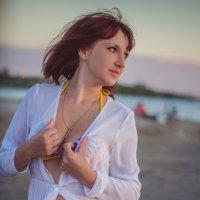 Пляж на закате :: Анютка Токарева