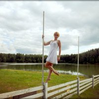 девушка в белом :: Ольга (Кошкотень) Медведева