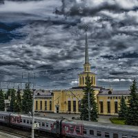 Вокзал... :: Ivan Lukkonen